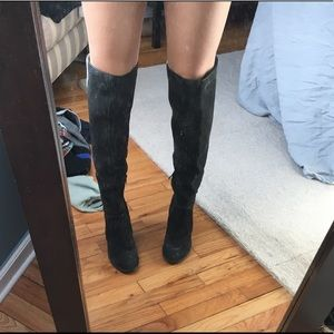 Gray over the knee Vince Camuto boots